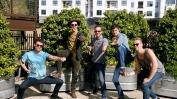 From L to R: Jake Thrasher, Jacob Bryant, Austin Smith, John Davidson, and Trevor Davis